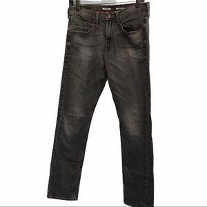 Wrangler grey men's vintage slim denim jeans 30x32